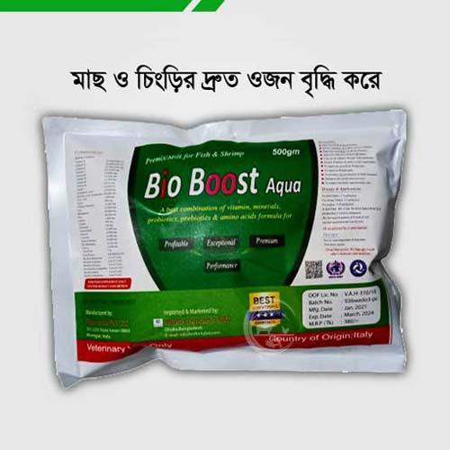 দ্রুত মাছের ওজন ও আকার বৃদ্ধিকারক Bio Boost Aqua