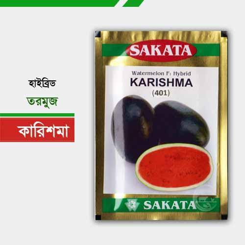 কালো আইসবক্স হাইব্রিড তরমুজ- কারিশমা Karishma Watermelon