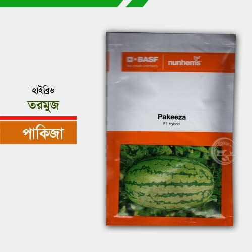 হাইব্রিড তরমুজ বীজ পাকিজা Pakeeza Watermelon